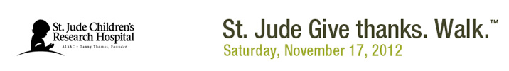 St. Jude Give thanks. Walk.